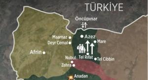 Κατάσταση Τ-Σ σύνορα (ΒΔ Συρία) 17-02-2016