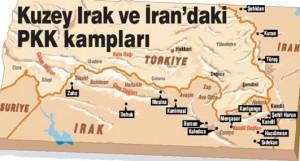 Χάρτης Στρατοπέδων ΡΚΚ