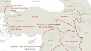 Χάρτης Τουρκίας ΝΥ ΤΙΜΕS